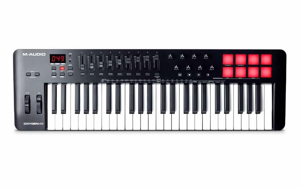 M-Audio Oxygen 49 MKV tastiera controller MIDI master keyboard soundwave strumentimusicali prezzo