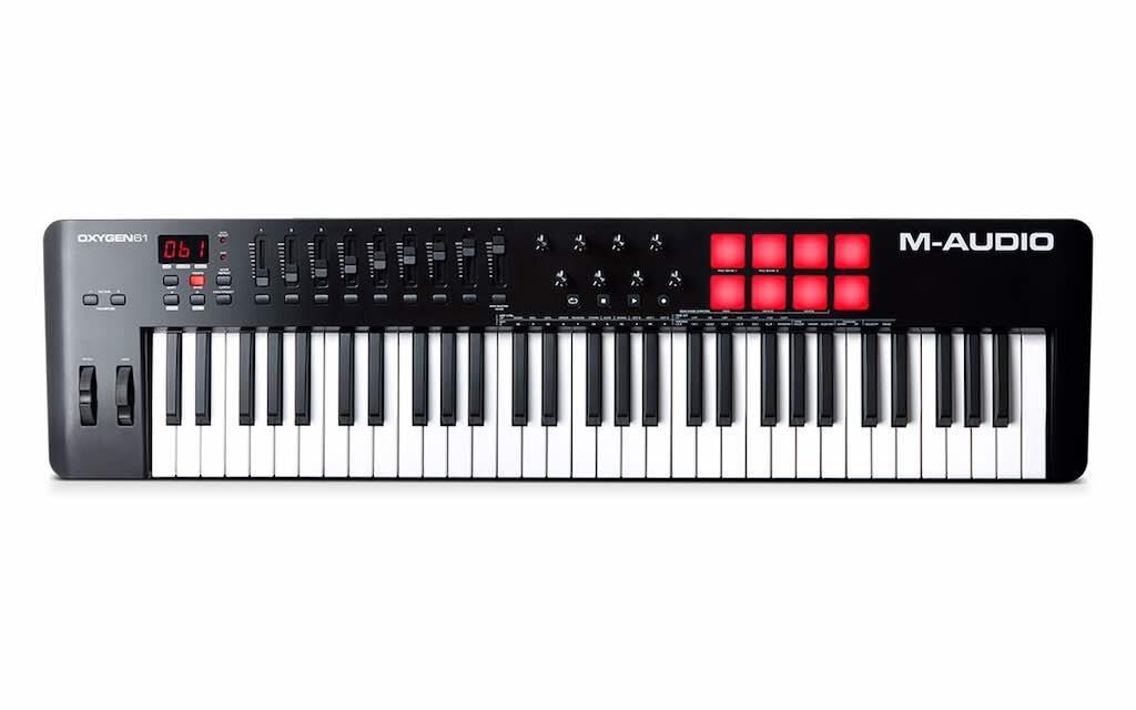 M-Audio Oxygen 61 MKV tastiera controller MIDI master keyboard soundwave strumentimusicali prezzo