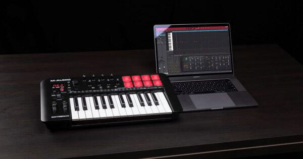M-Audio Oxygen MKV tastiera controller MIDI master keyboard soundwave strumentimusicali