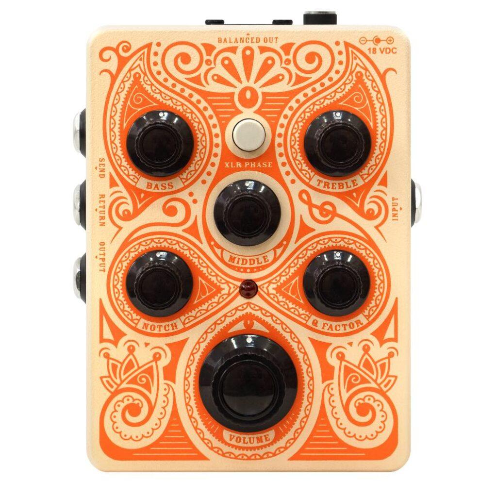 Orange Acoustic Pedal pedali stompbox fx chitarra acustica adagio strumentimusicali