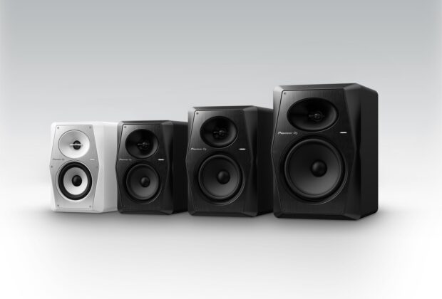 Pioneer DJ VM Series monitor audio nearfield recording mixing home studio frenexport strumenti musicali