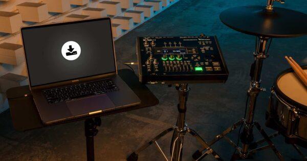 Roland TD-50x upgrade v-drums batteria elettronica drums strumentimusicali aggiornamento firmware