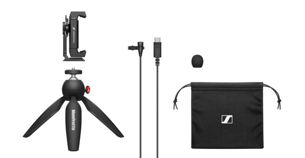Sennheiser XS Lav USB-C Mobile Kit Mobile Kit audio video podcast vlog exhibo strumenti musicali