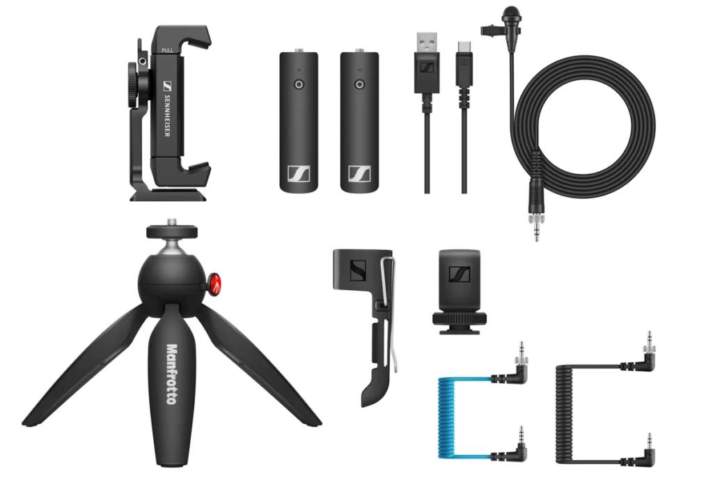 Sennheiser  XSW-D Portable Lav Mobile Kit Mobile Kit audio video podcast vlog exhibo strumenti musicali