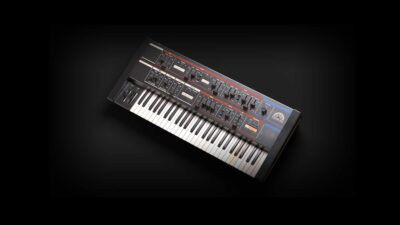Softube Model-84 virtual instrument soft synth music producer midiware strumentimusicali roland juno