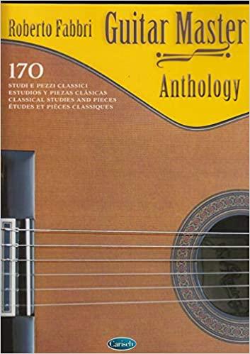 guitar master anthology roberto fabbri strumenti musicali