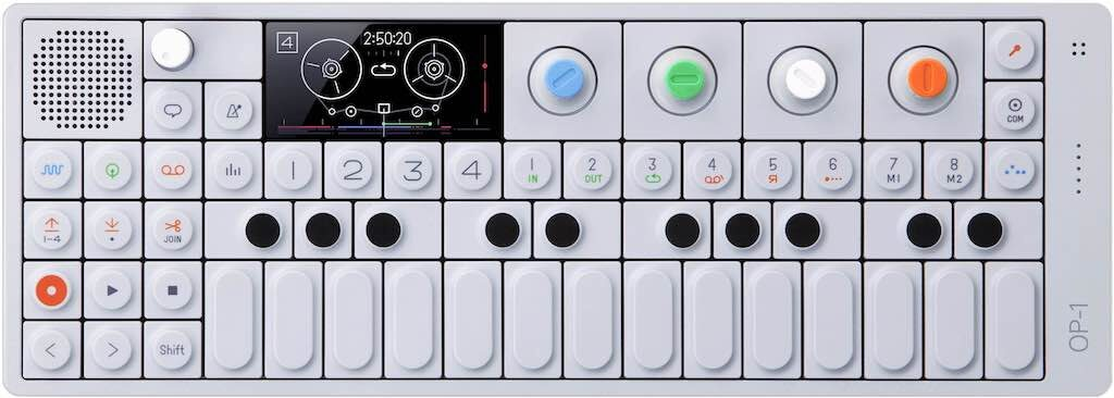 teenage engineering op1 anniversary synth hardware sintetizzatore producer music midiware strumentimusicali