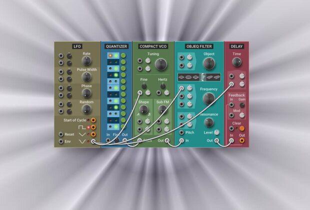 AAS Multiphonics CV-1 soft synth virtual instrument modular strumentimusicali