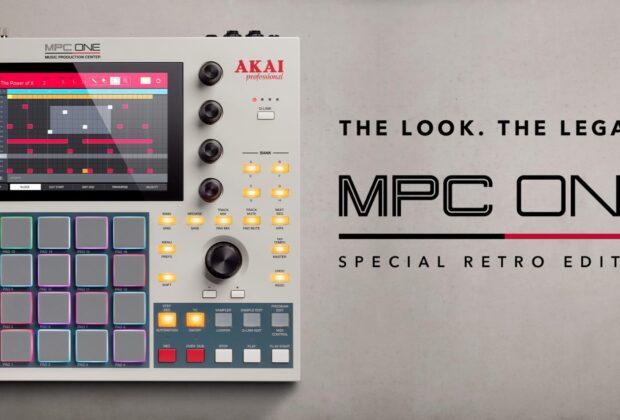 AKAI MPC ONE Retro hardware player sampler algam eko dj producer strumentimusicali