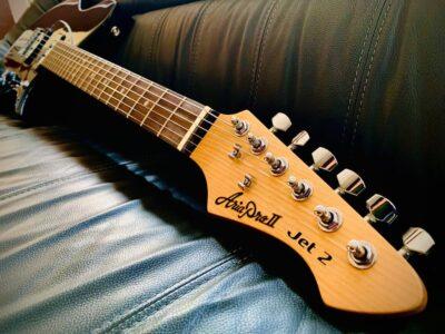 Aria Guitars Aramini chitarra elettrica acustica strumentimusicali