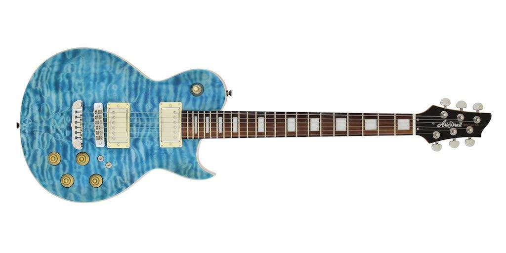Aria Guitars PE480 Aramini chitarra elettrica strumentimusicali