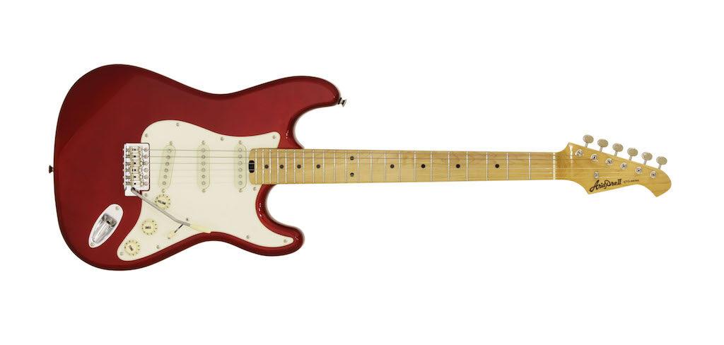 Aria Guitars STG57 wine red Aramini chitarra elettrica strumentimusicali