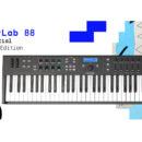 Arturia KeyLab Essential 88 Black Edition midi controller master keyboard tastiera midiware strumentimusicali