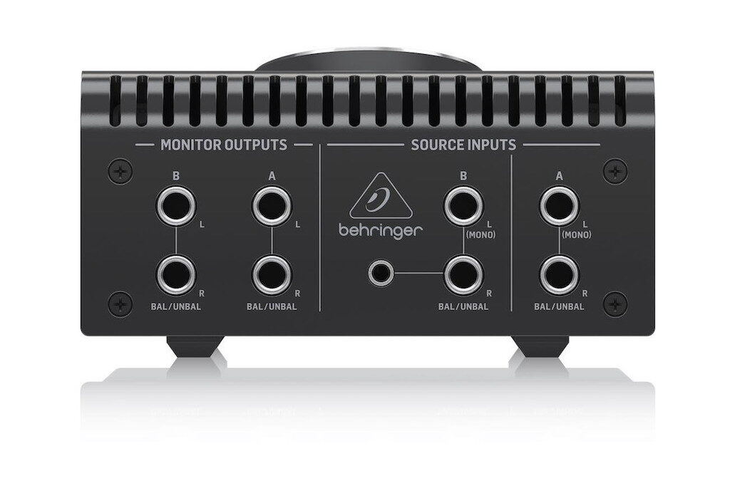 Behringer Studio M monitor controller hardware studio recording mixing home audiofader