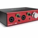 Focusrite Clarett2Pre USB hardware interfaccia audio home studio recording luca pilla test review recensione algam eko strumentimusicali