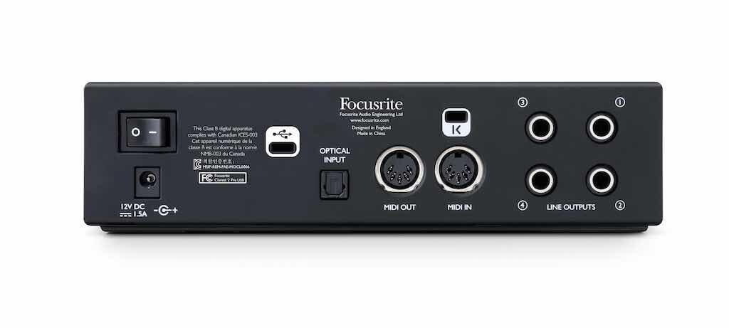 Focusrite Clarett2Pre USB luca pilla test review recensione opinioni strumentimusicali