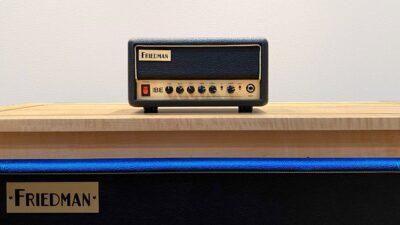 Friedman BE-Mini amp guitar chitarra fx testata strumentimusicali