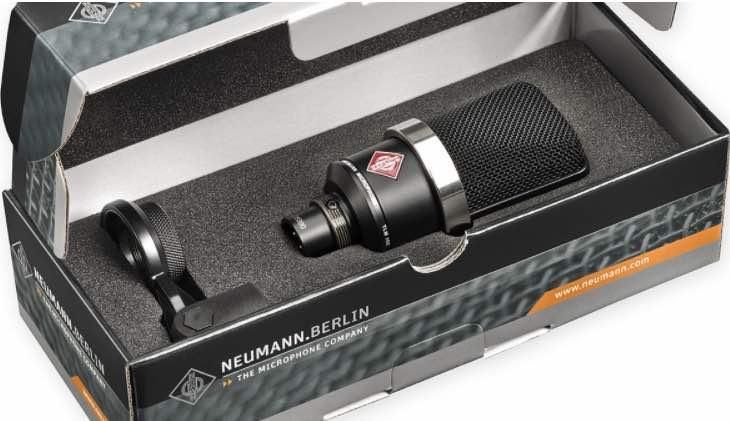 Neumann TLM 102 microfono homestudio review test recensione exhibo strumentimusicali luca pilla prezzo