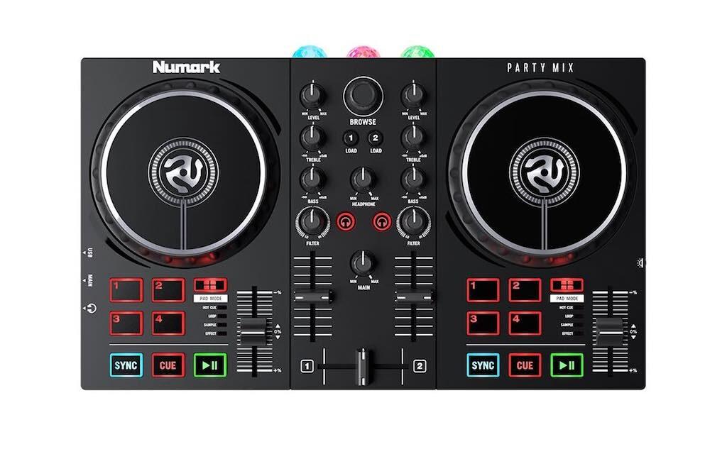 Numark PartyMix MKII dj controller hardware djpoint strumentimusicali