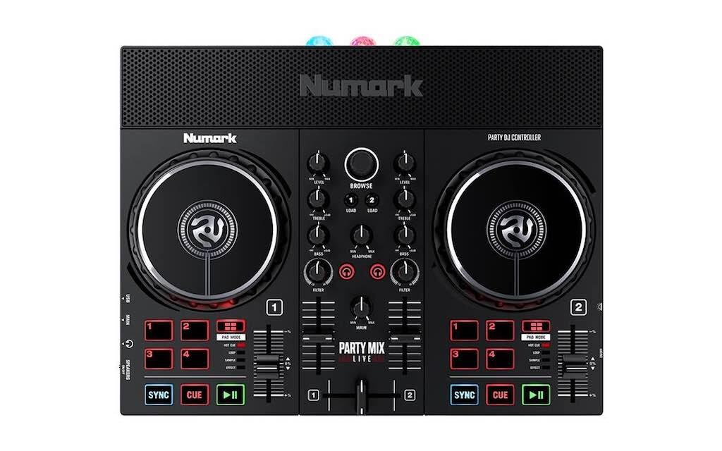 Numark PartyMixLive dj controller hardware djpoint strumentimusicali