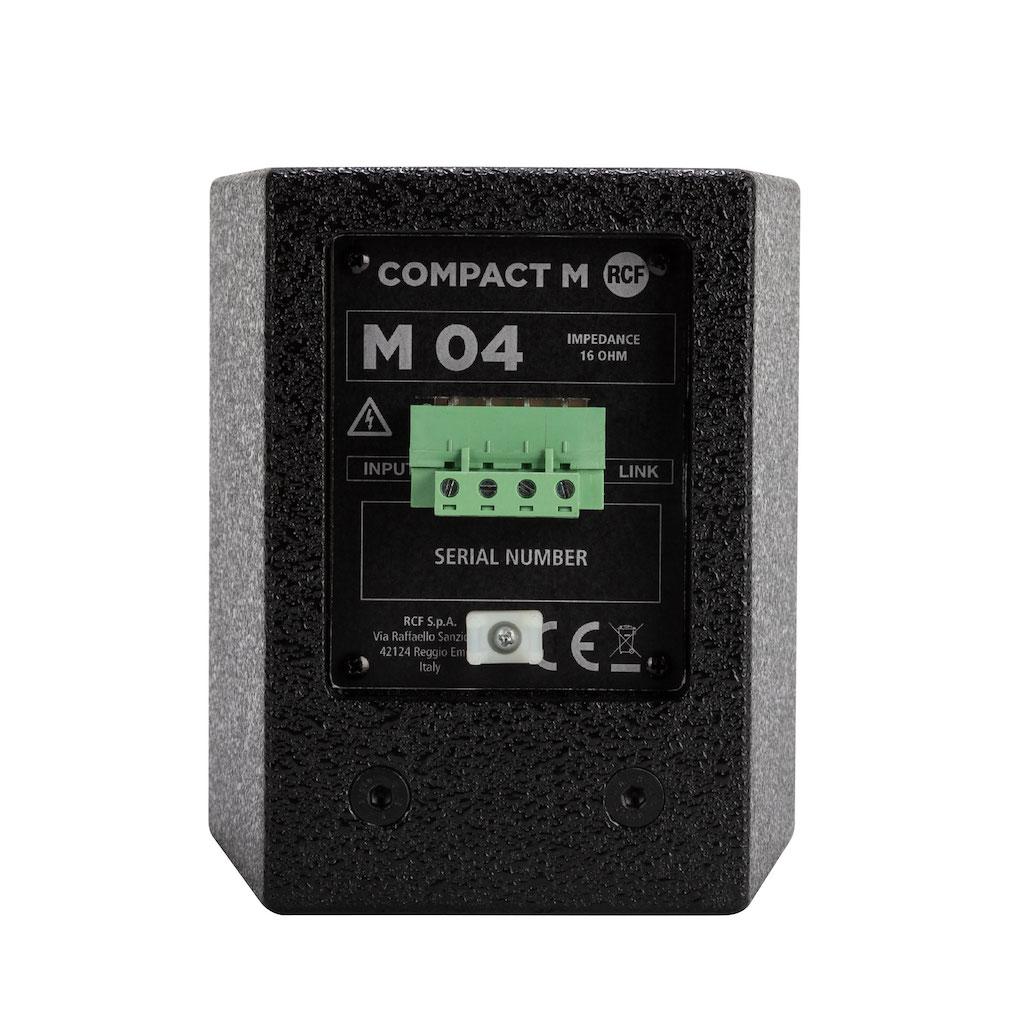 RCF Compact M04 monitor speaker live negozi audio strumentimusicali