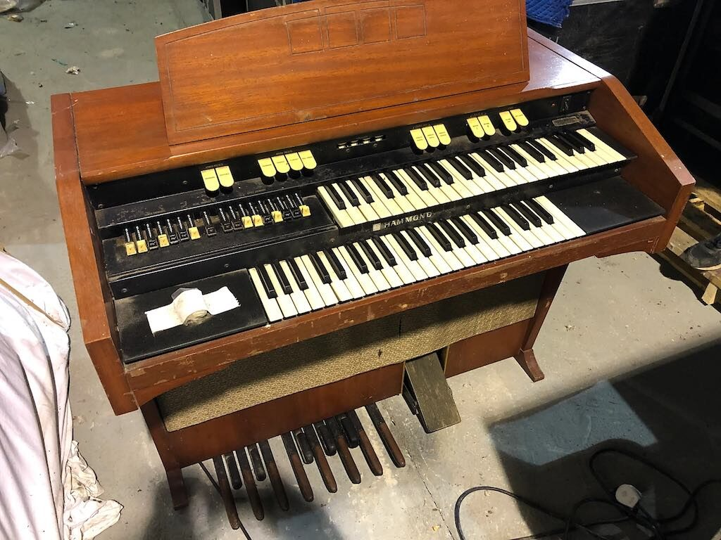 Rick Wakeman Hammond L122 tastiera organo strumentimusicali yes