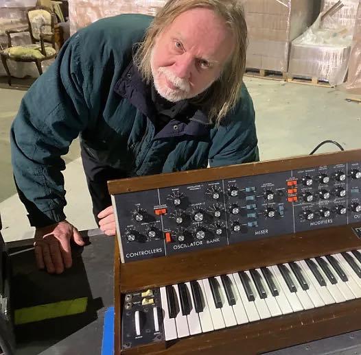 Rick Wakeman moog minimoog tastiera synth sintetizzatore strumentimusicali yes