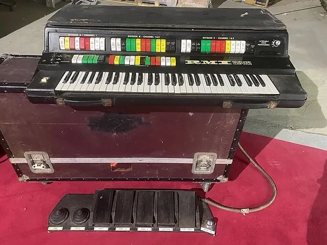 Rick Wakeman RMI Computer Keyboard synth tastiera sintetizzatore strumentimusicali yes