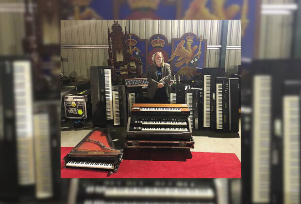 Rick Wakeman yes tastiera synth sintetizzatore hardware moog hammond prophet sequential circuit korg valdesta rmi roland ensoniq yamaha polivoks strumentimusicali
