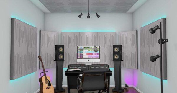 Vicoustic VicStudio VMT Box recording home studio project pannelli acustica fonoassorbenti strumentimusicali