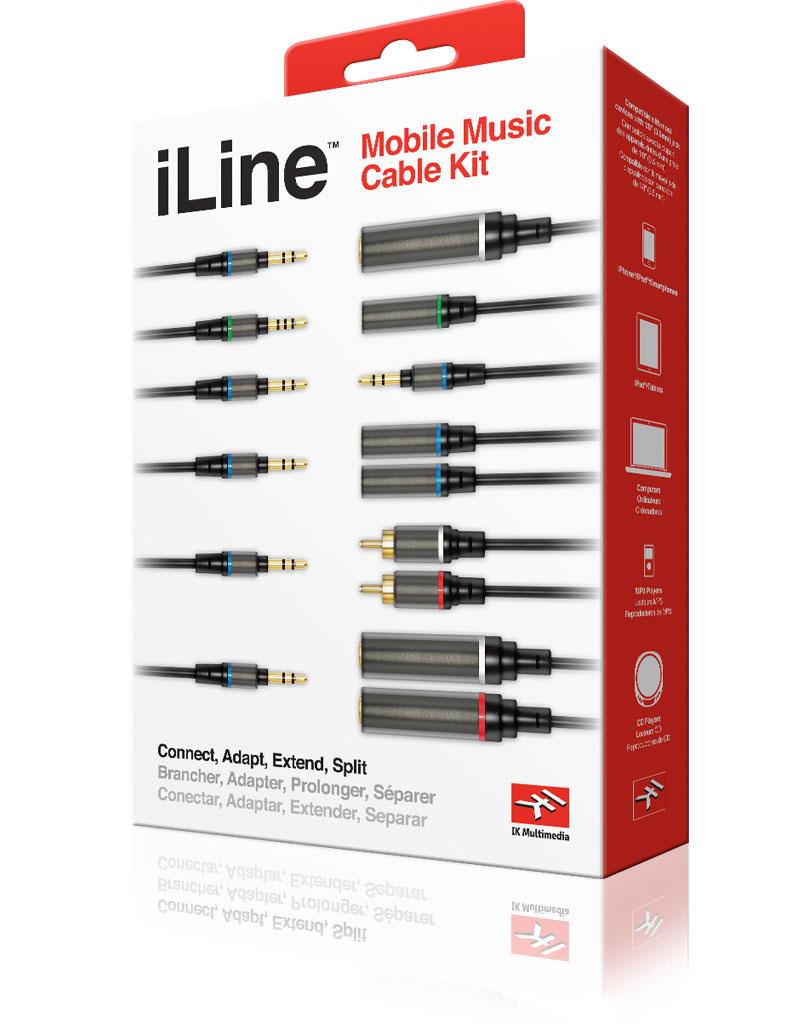 iLine cable kit strumenti musicali