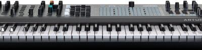 Arturia MatrixBrute Noire edition synth sintetizzatore hardware tastiera keyboard midiware strumentimusicali