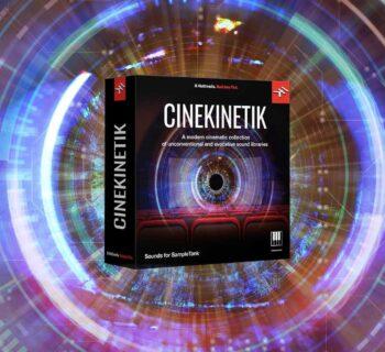 Ik Multimedia Cinekinetik sampletank sample library virtual instrument synth soft strumentimusicali