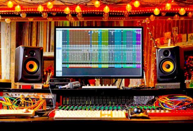 KRK Classic 7 monitor audio speaker home project pro studio mixing recording dj point mpi electronics strumentimusicali
