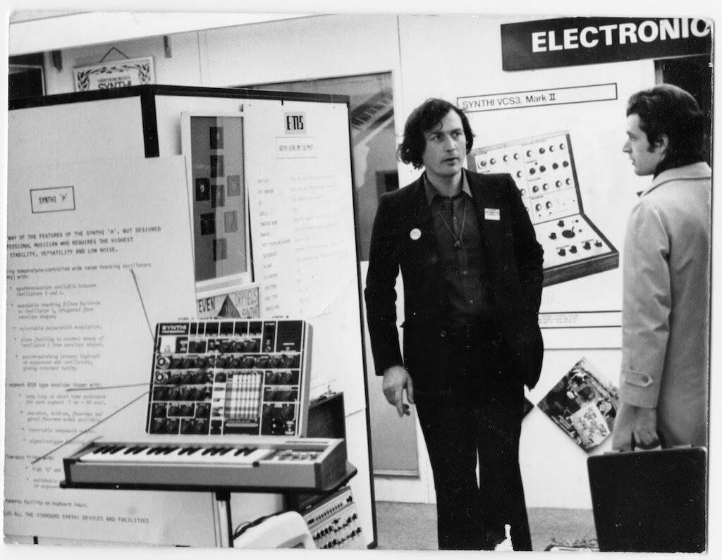 Peter Zinovieff EMS Frankfurt musikmesse strumentimusicali synth vcs3