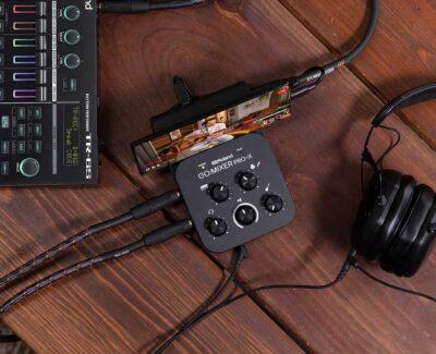 Roland GOMixer Pro-X interfaccia audio mobile recording live broadcast hardware strumentimusicali