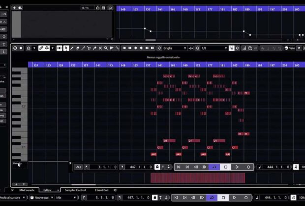 Steinberg Cubase tutorial midi software daw virtual pierluigi bontempi video tutorial strumentimusicali