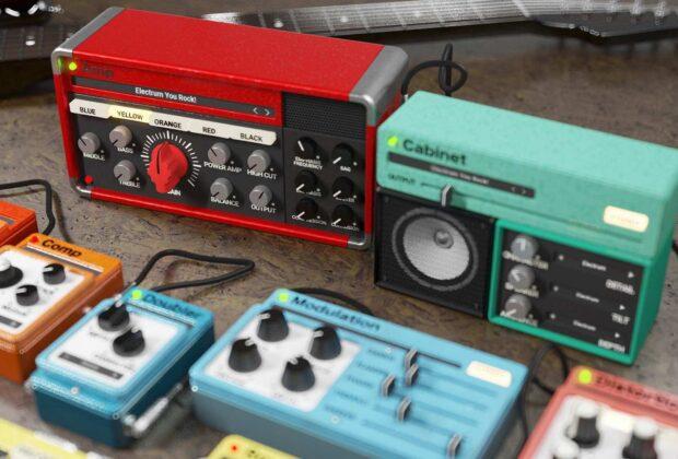 United Plugins Muramasa Audio Electrum plug-in software guitar rig amp cabinet strumentimusicali