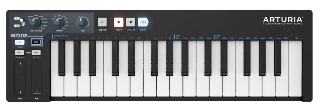 Arturia KeyStep Black Edition midiware hardware controller tastiera keyboard midiware