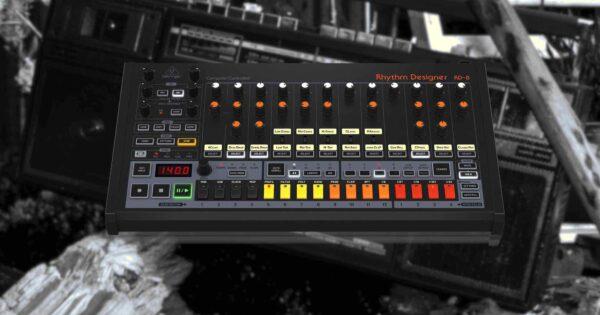 Behringer RD-8 mk2 drum machine hardware strumentimusicali