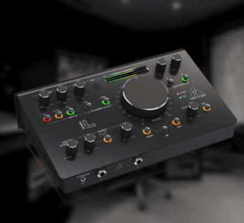 Behringer Studio L monitor controller audio speaker studio recording mixing strumentimusicali
