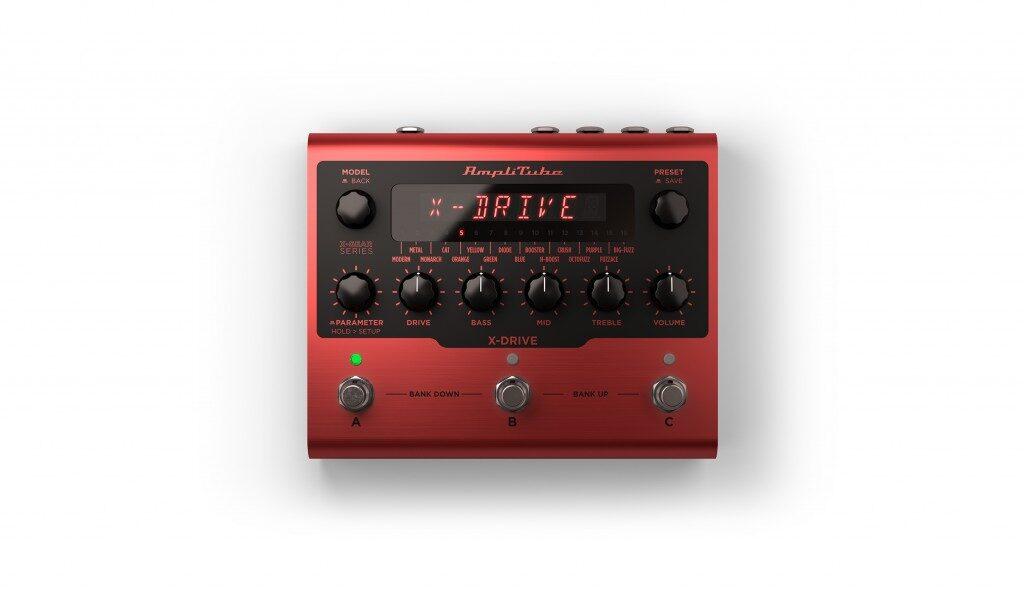 Ik Multimedia AmpliTube X-Gear X-Drive pedaliera digital chitarra guitar fx stompbox mogar strumenti musicali