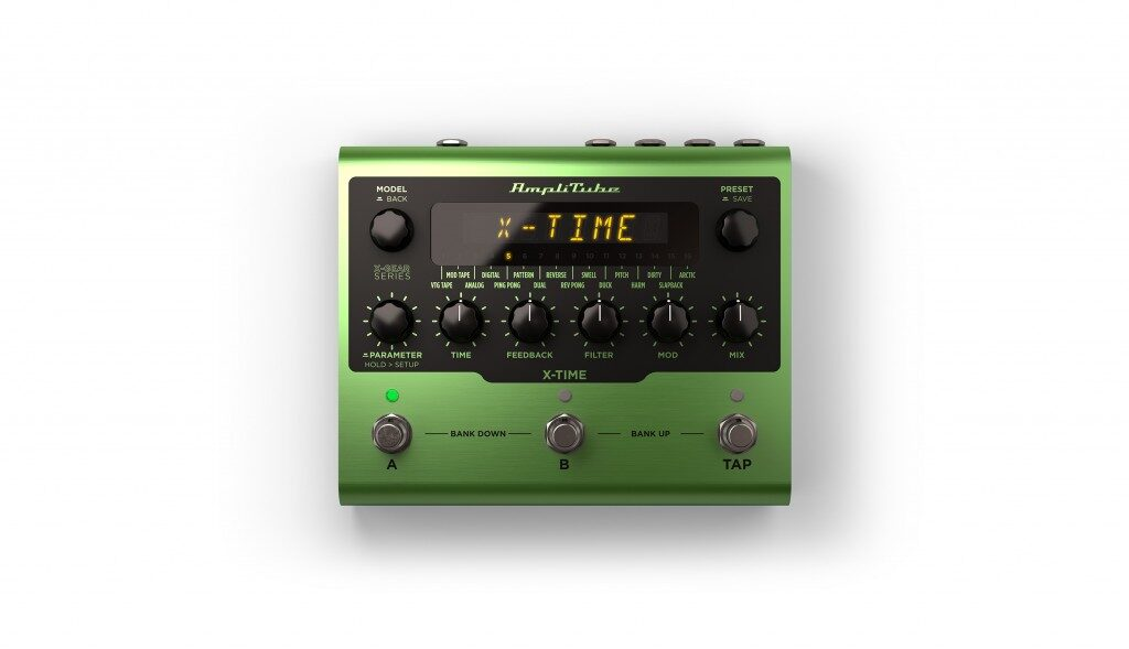 Ik Multimedia AmpliTube X-Gear X-Time pedaliera digital chitarra guitar fx stompbox mogar strumenti musicali