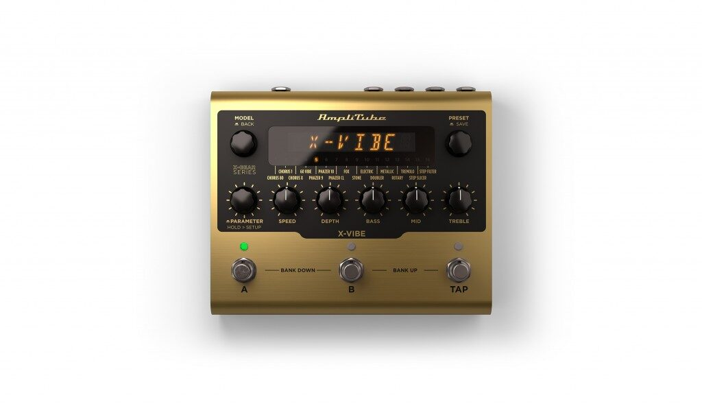 Ik Multimedia AmpliTube X-Gear X-Vibe pedaliera digital chitarra guitar fx stompbox mogar strumenti musicali