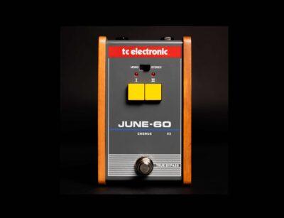 Tc Electronic June-60 v2 pedale stompbox pedaliera fx chorus roland juno-60 strumentimusicali