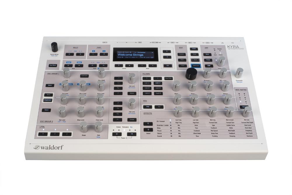 Waldorf kyra synth sintetizzatore hardware digital soundwave strumentimusicali