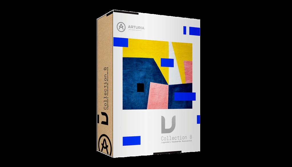 Arturia V-Collection 8.1 virtual instrument soft synth sintetizzatore midiware strumentimusicali