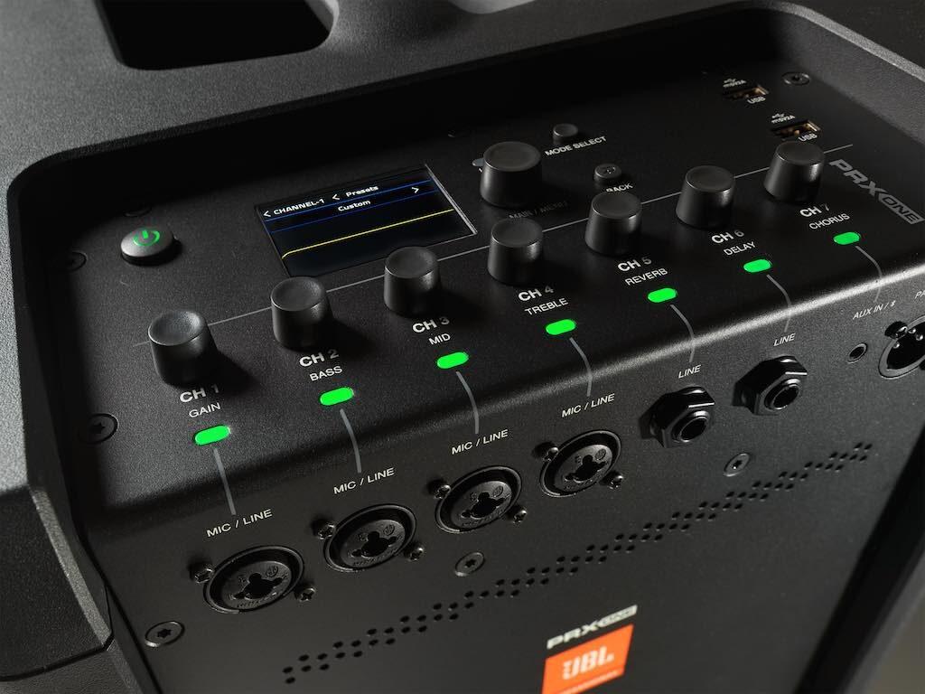 JBL PRX ONE impianto pa mixer dsp array live all in one compatto strumentimusicali dj singer