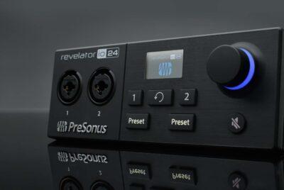 PreSonus Revelator io24 interfaccia audio usb-c home studio mobile midi music strumentimusicali