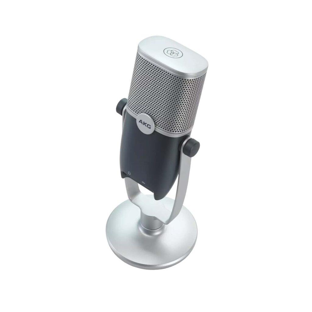 AKG ARA microfono condensatore usb podcast studio home gaming twitch youtube leading tech strumentimusicali
